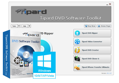 Tipard DVD Software Toolkit Platinum 6.5.8.14221 - ENG