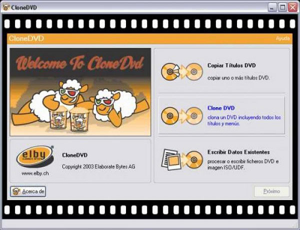 Clone DVD