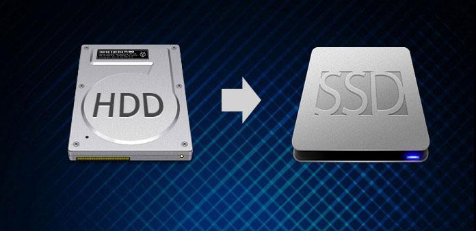 HDD'yi SSD'ye kopyalayın