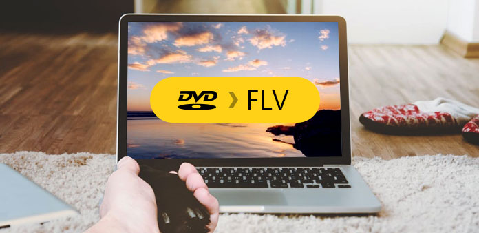 Konverter DVD til FLV med DVD Ripper for Mac