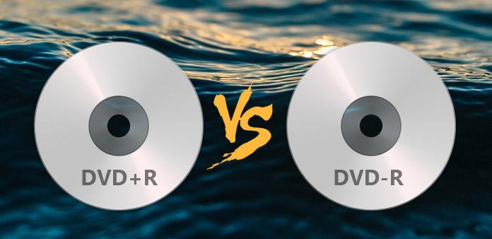 الفرق بين DVD + R و DVD –R