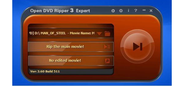Apri DVD Ripper