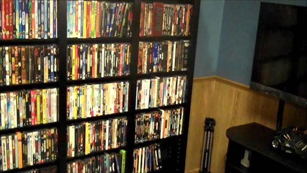 Φυσική διοργανωτής DVD