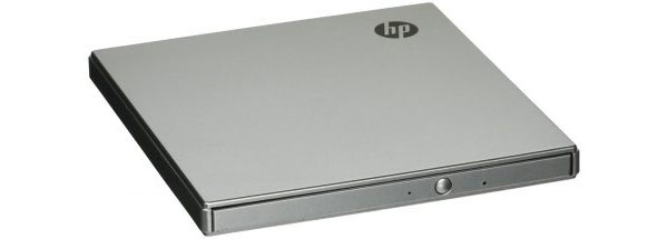 Gravador de DVD / CD externo ultra-fino HP
