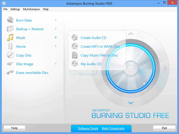 Gratis Burning Studio