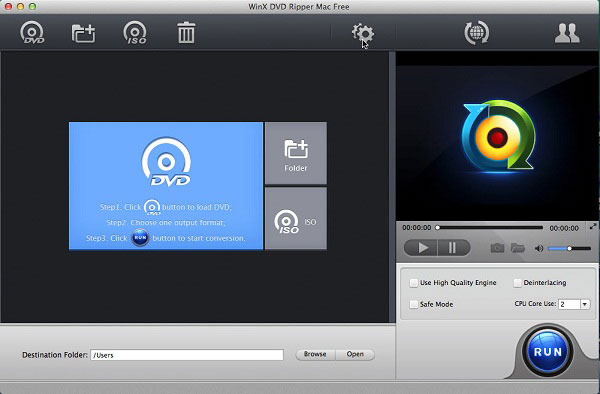 WinX DVD Ripper Mac