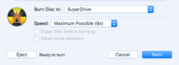 Branden voor Mac