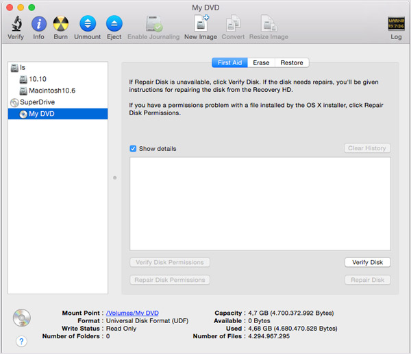 Disk Utility