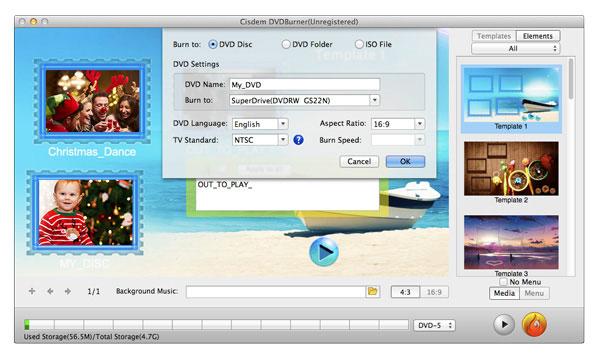 Cisdem DVD Burner 3 för Mac