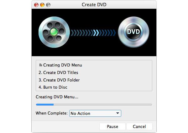 DVDを焼く