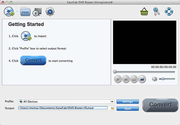 EaseFab DVDリッパー