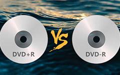 DVD + R a DVD -R