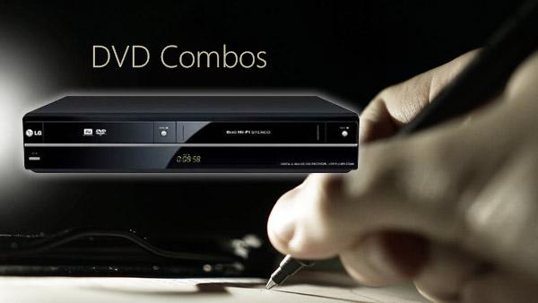 テレビのDVDコンボ