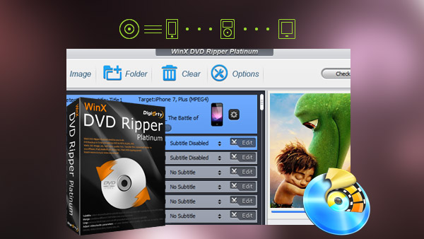 WinX DVD Ripper Alternativer