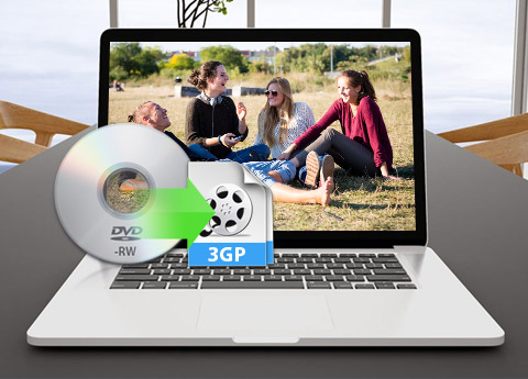 Mac DVD to 3GP Converter