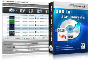 DVD to 3GP Converter Screen