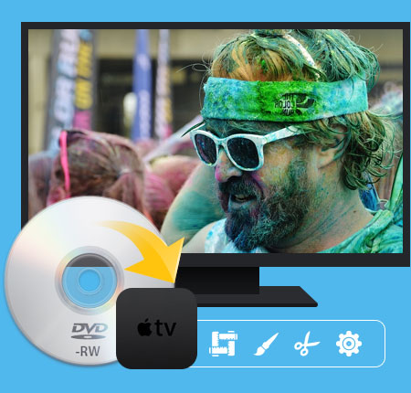 DVD do Apple TV Converter