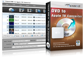 DVD to Apple TV Converter Screen