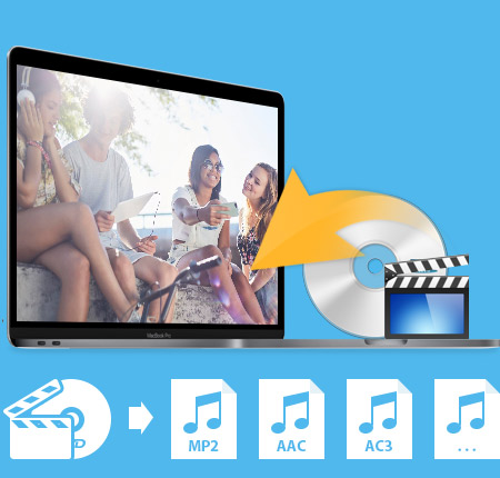 Tipard DVD إلى Audio Suite for Mac