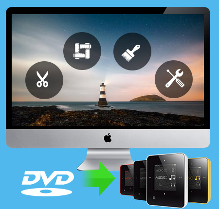 Tipard DVD til Creative Zen Converter for Mac