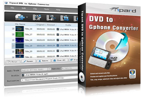 DVD to Gphone Converter Screen