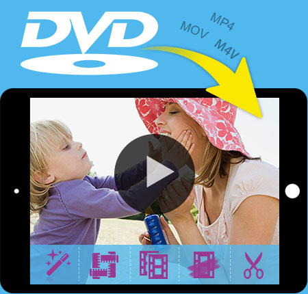 Tipard DVD to iPad Converter