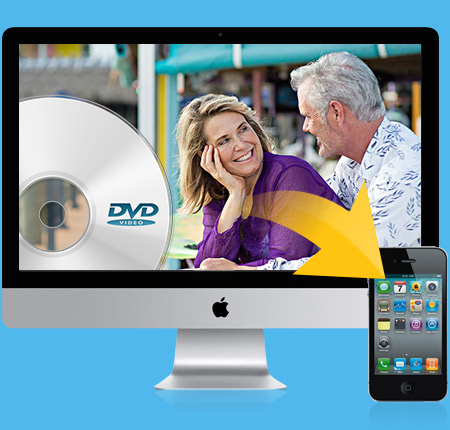Tipard DVD to iPhone 4 Converter per Mac