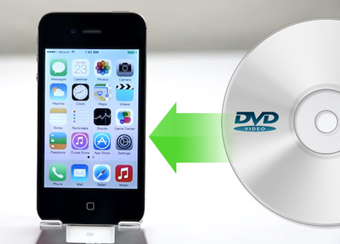 İPhone 4 için DVD Rip