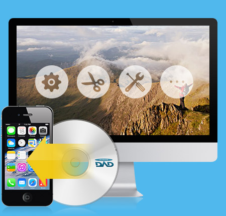 Tipard DVD do iPhone 4S Converter pro Mac