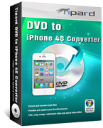 Tipard DVD to iPhone 4S Converter boxshot