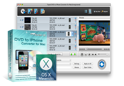 Mac DVD to iPhone Converter