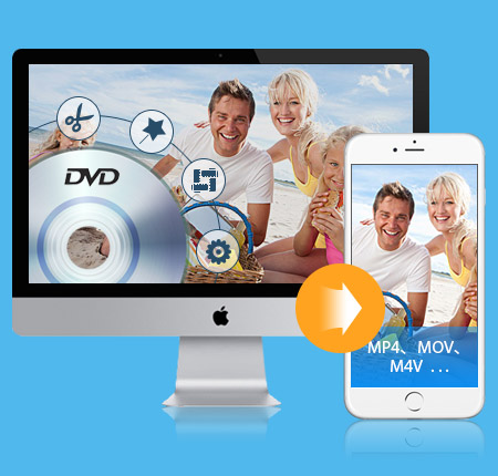 Convertitore DVD per iPhone per Mac