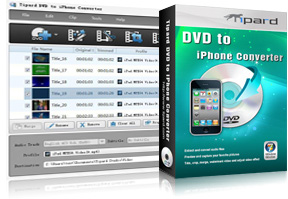 DVD to iPhone Converter Screen