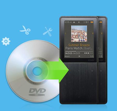 DVD Tipard para o iRiver Suite