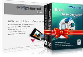 DVD to iRiver Suite Screen