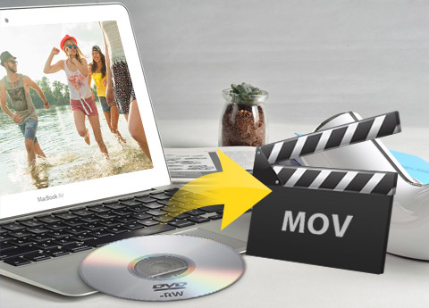 Convertir DVD a formatos de video y audio en Mac