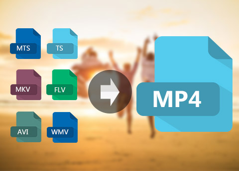 Convert any videos to mp4