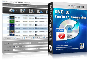 DVD to YouTube Converter Screen