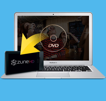 Tipard DVD para Zune Converter for Mac