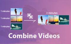 Объединить два видео