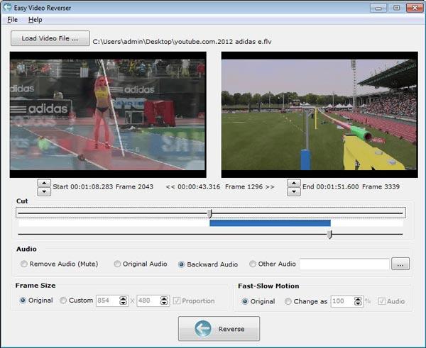 Inverseur vidéo facile