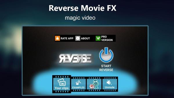 Обратный Movie FX