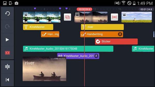 Melhor fusão de vídeos do KineMaster