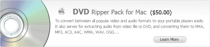 DVD Ripper Pack for Mac