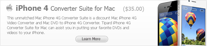 iPhone 4 Converter Suite for Mac