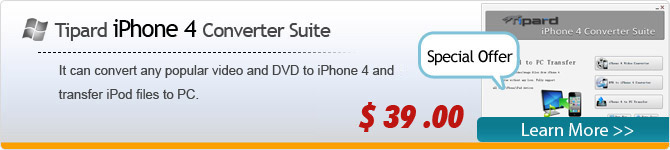 iPhone 4 Converter Suite