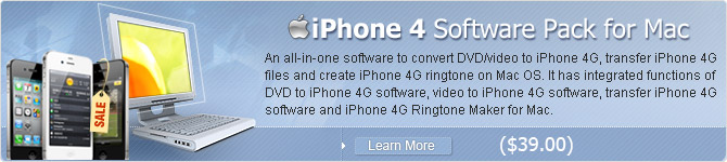 iPhone 4 Software Pack for Mac