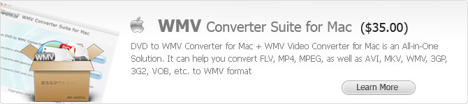 WMV Converter Suite for Mac