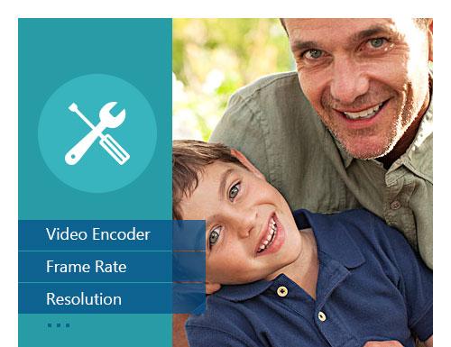 Anpassa videoinställningar för video