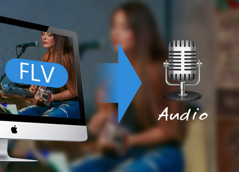 Преобразование FLV / SWF в аудио на Mac